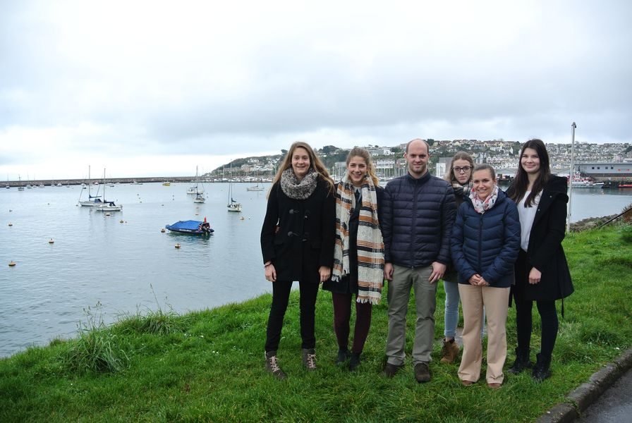 Gruppenfoto in Brixham